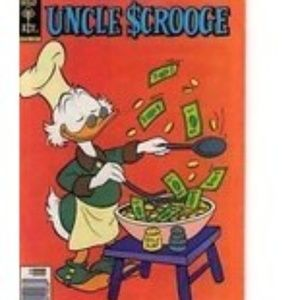 Uncle Scrooge #165 1979 Comic Book Walt Disney